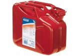 10L Steel Fuel Can (Red)