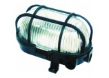 Oval Bulkhead 60w - Black