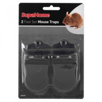 2 Fast Set Mouse Traps