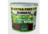 One Coat Fence Life 4L + 25% Free - Forest Green