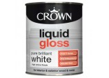 Liquid Gloss 750ml - Pure Brilliant White