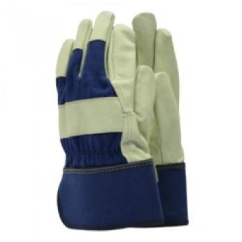 Classics De-luxe Washable Leather Gloves - Men's Size - L