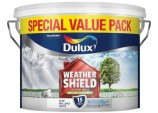 Smooth Masonry Paint 7.5L - Pure Brilliant White