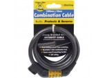 10mm x 1.5m combination Locking cable and mounting bracket