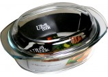 "Ultra Cook Oval Caserole 13x8"" / 3.5ltr"