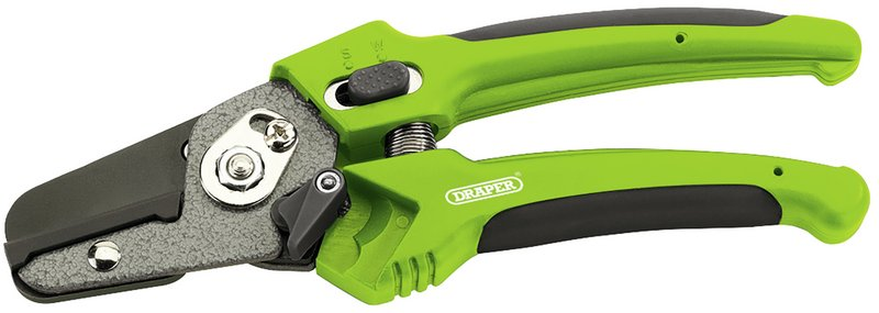 Soft Grip Anvil Pattern Secateurs (200mm) – Now Only £5.55