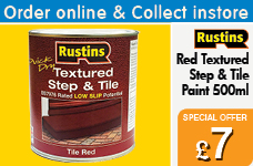Quick Dry Textured Step and Tile Paint 500ml – Now Only £7.00