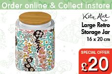 Pretty Retro Large Storage Jar – Now Only £20.00