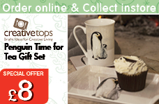 Emporor Penguin Time for Tea gift Set  – Now Only £8.00