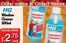 Window Cleaner 500ml – Now Only £2.75
