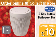Rattan Bathroom Bin – Now Only £10.00