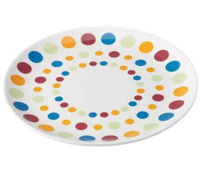 Melamine Dinner Plate - Polka – Now Only £1.50