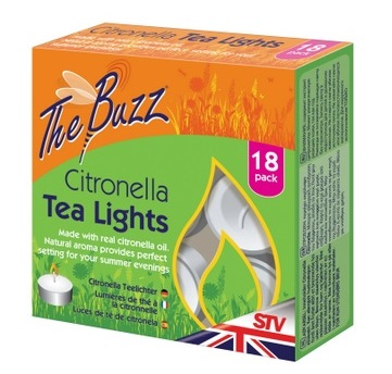 18 Pack of Citronella Tea Lights – Now Only £2.50