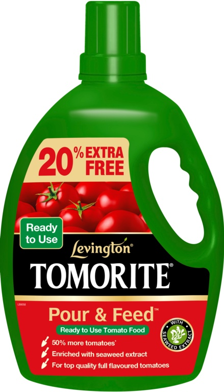 Tomorite Pour & Feed 3 Litres + 20% Free – Now Only £6.00