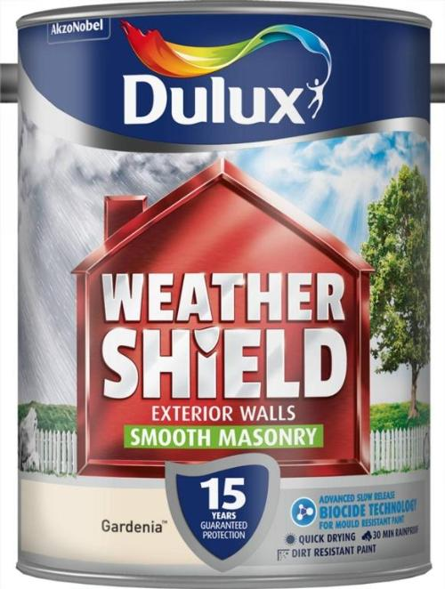 Smooth Masonry Paint 5L  - Gardenia – Now Only £23.00