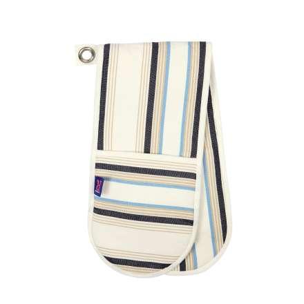 Regatta Double Oven Glove - Cream Stripe – Now Only £7.00