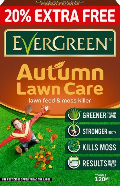 Autumn Lawncare 100sqm + 20% free – Now Only £9.50