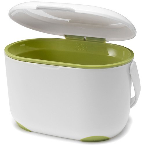 New 2.5L Compost Caddy - White and Green – Now Only £10.00