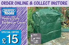 Barbecue Cover - 1500  x 1000 x 1250mm – Now Only £15.00