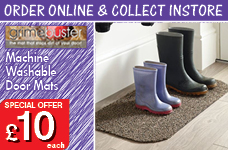 Machine Washable Door Mat 50 x 70cms -  – Now Only £10.00
