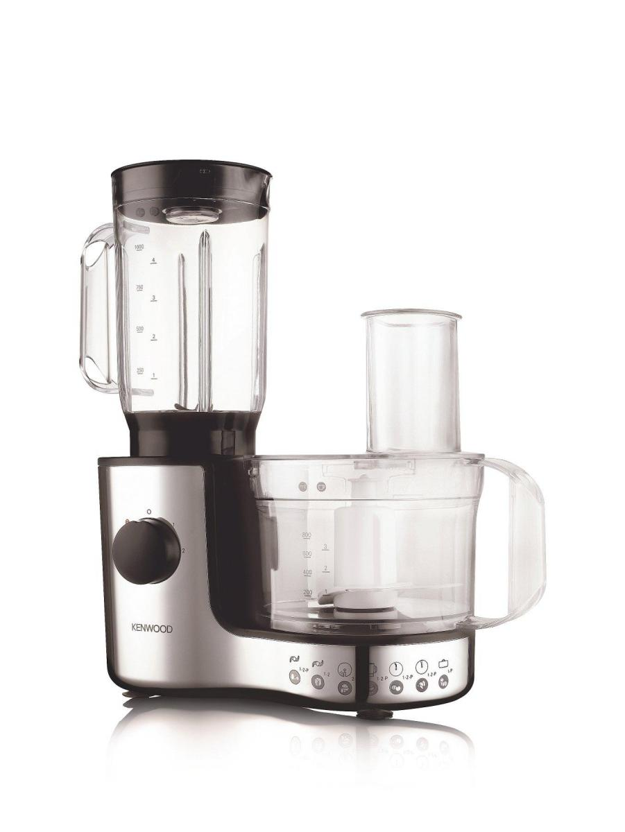 Compact Food Processor with Chrome Finish 600w – Now Only £45.00