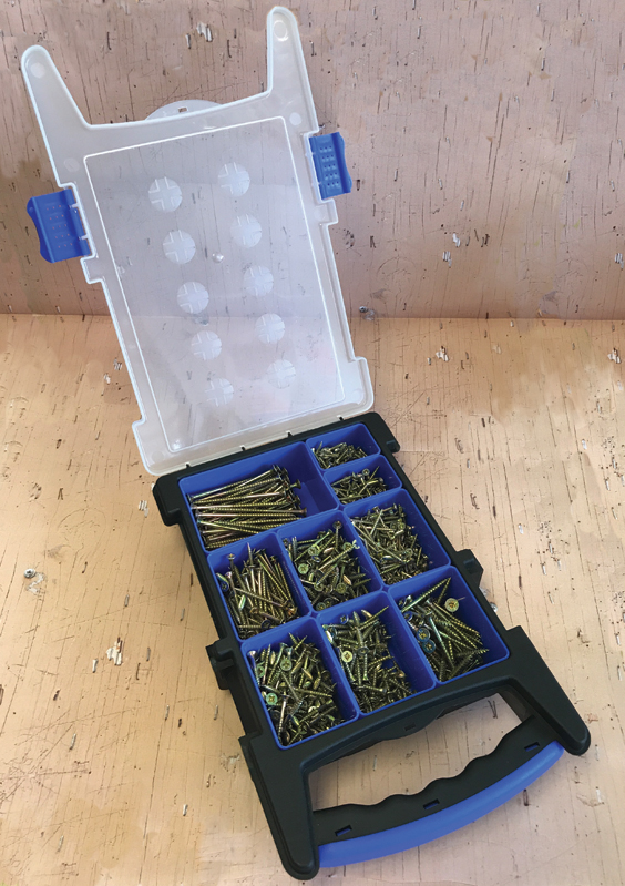 1000 Piece Screw Assortment in Organiser – Now Only £20.00