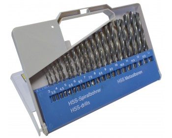 21pc HSS Drill Set (3mm-13mm) – Now Only £19.00