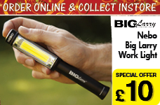 Nebo Big Larry Work Light – Now Only £10.00