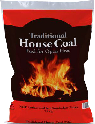 Traditional Housecoal - 20kg  – Now Only £8.50