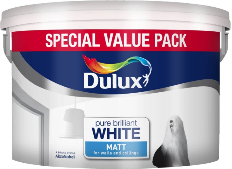 7 Litre Rich Matt Pure Brilliant White Special Value Pack – Now Only £14.00