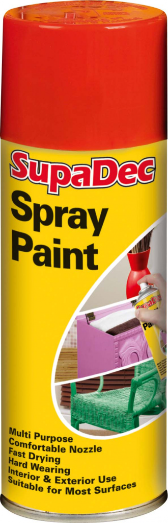 Spray Paint 400ml  - Red – Now Only £3.50
