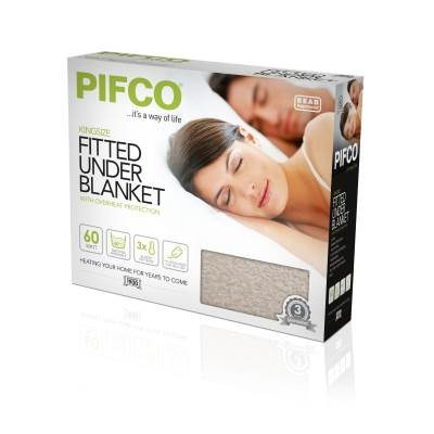 Kingsize fitted Underblanket White 2 x 60w – Now Only £45.00