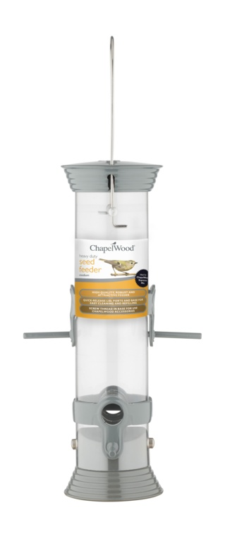 Heavy Duty Seed Feeder - 30cm – Now Only £7.00