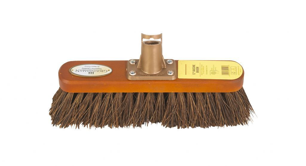 """12"""" Groundsman Bassine Broom Head  – Now Only £4.00"""
