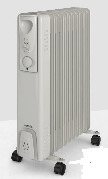 1500w Oil Filled Radiator – Now Only £27.00