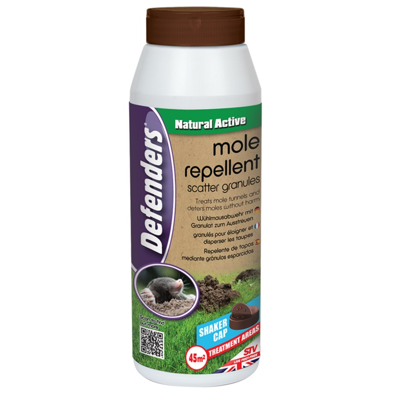Mole Repellent Scatter Granules 450g – Now Only £6.00