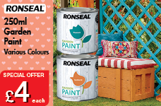 Garden Paint 250ml  -  – Now Only £4.00