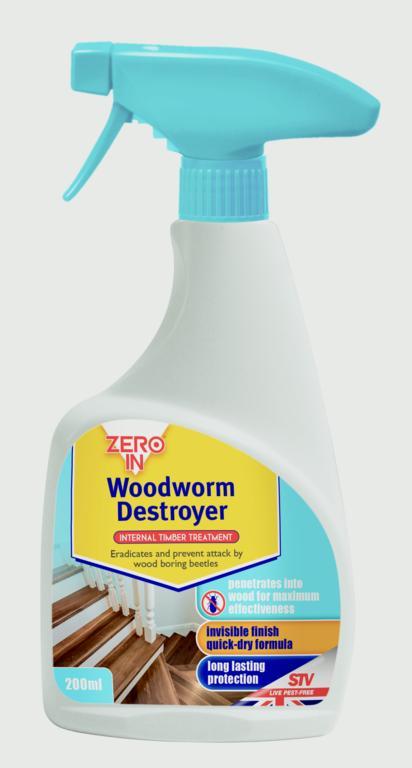 Woodworm Destroyer Spray RTU 500ml – Now Only £5.00