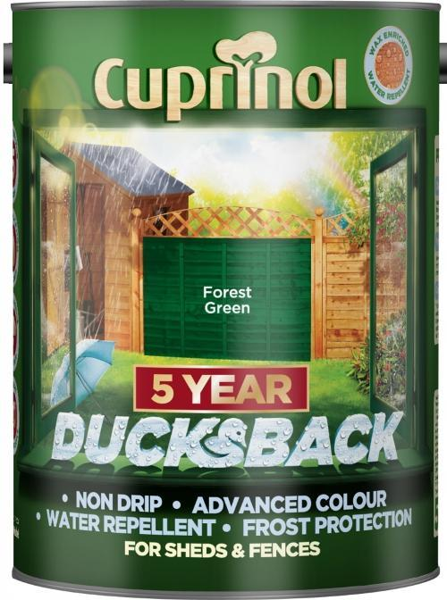 Ducksback 5L  - Forest Green – Now Only £11.00