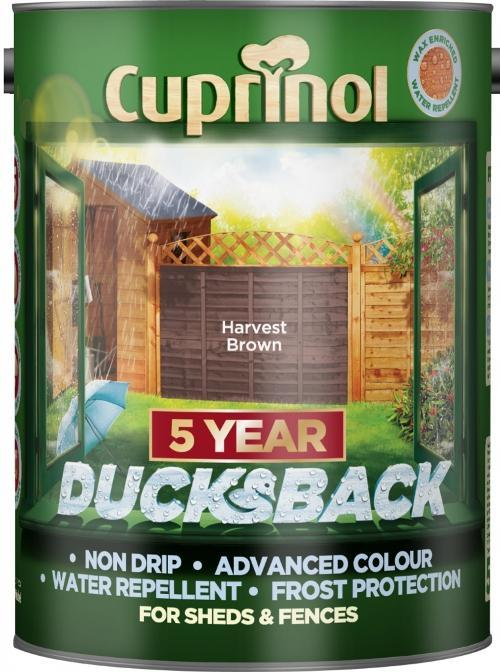 Ducksback 5L  - Harvest Brown – Now Only £11.00