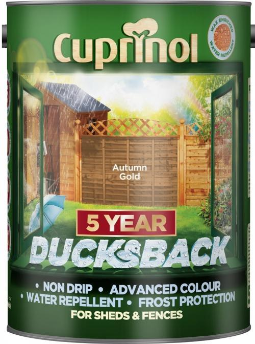 Ducksback 5L  - Autumn Gold – Now Only £11.00