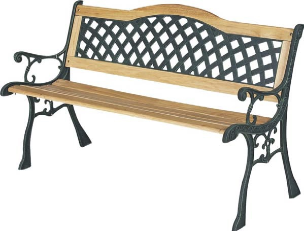 Single Bend Garden Bench  – Now Only £50.00