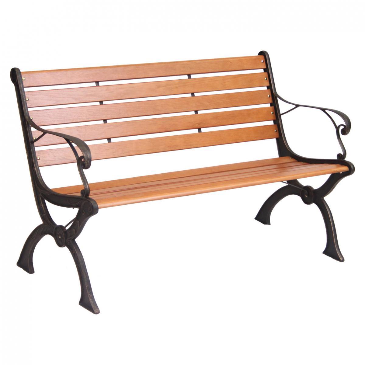 10 Slat Hardwood Park Bench – Now Only £75.00