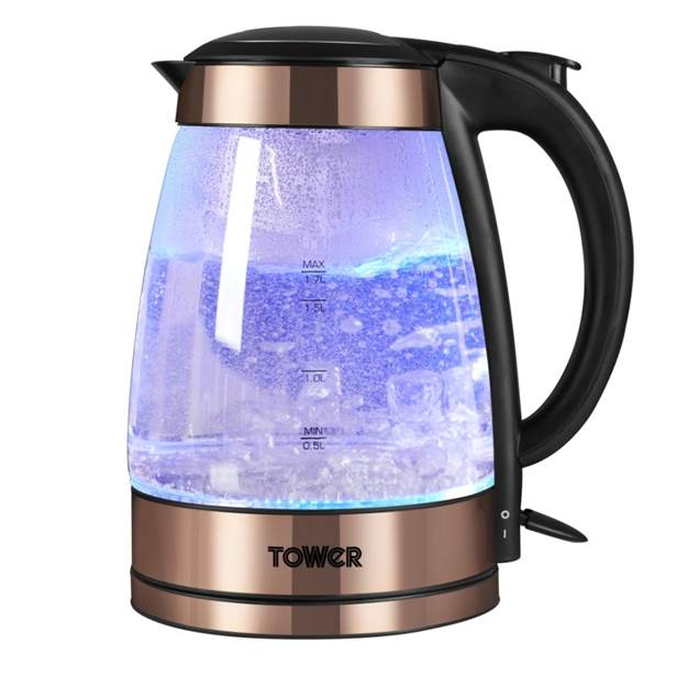 3kW 1.7L Kettle Rose Gold Accents – Now Only £38.00
