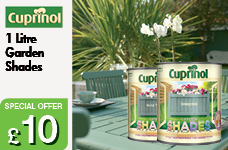 Garden Shades 1L  -  – Now Only £10.00