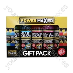 Power Maxed Car Valet Gift Pack