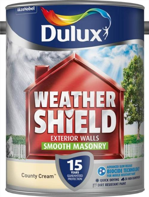 Smooth Masonry Paint 5L  - County Cream – Now Only £20.00