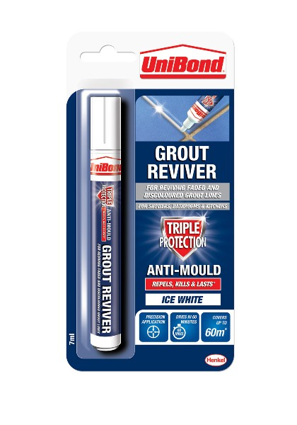Grout Reviver Pen 7ml - Ice White