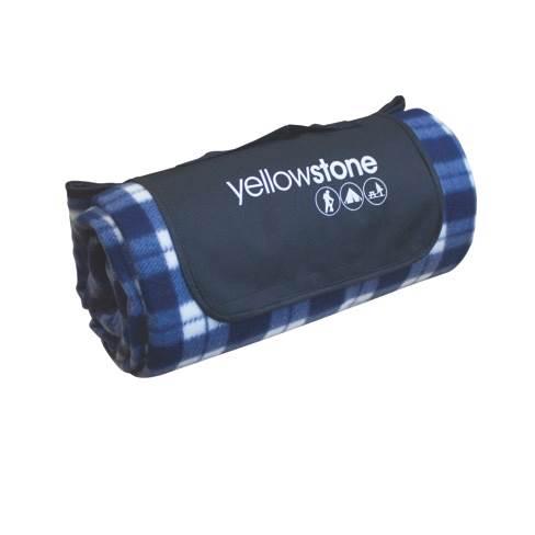 Luxury Blue Tartan Fleece Picnic Blanket – Now Only £9.00