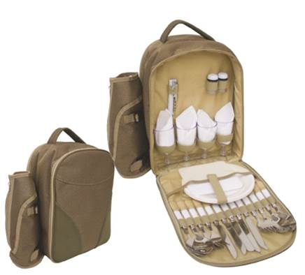 4 Person Picnic Bag with Cooler Compartment – Now Only £25.00